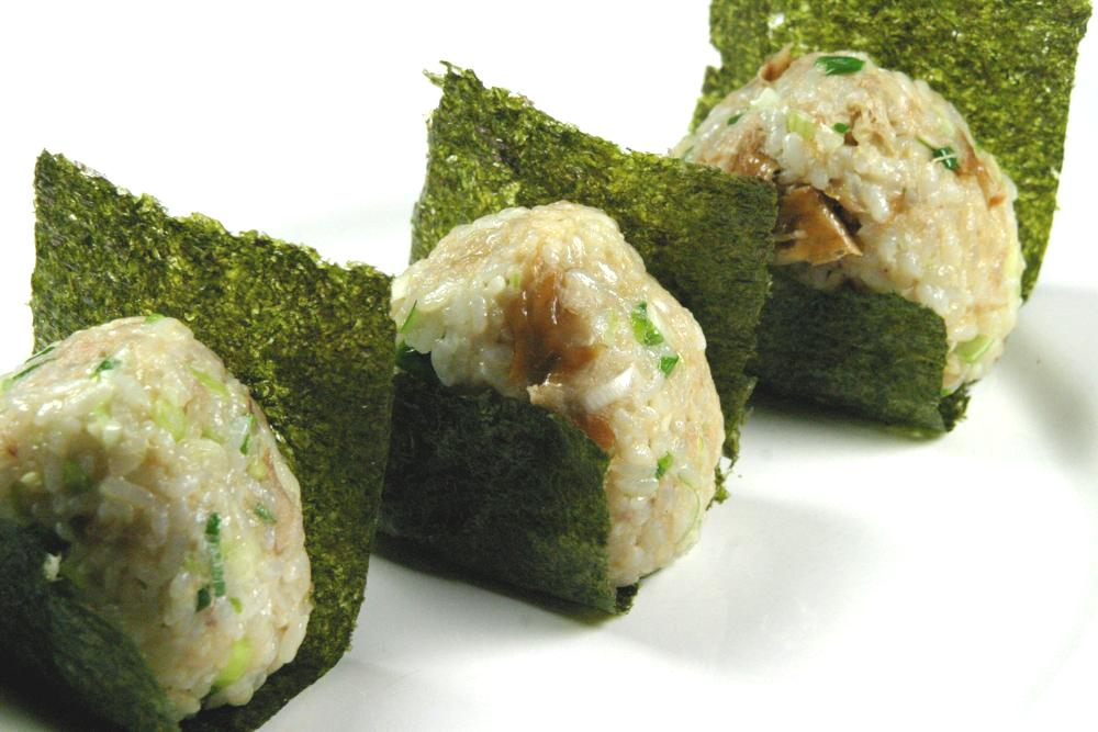 Smoked Mackerel Rice Ball (Oni - cookbuzz